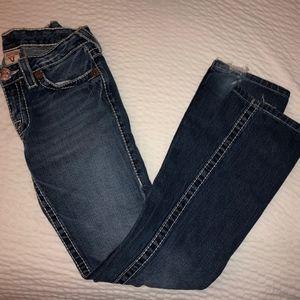 True Religion Size 26 100% Cotton Jeans
